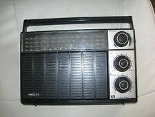RADIO PHILIPS 90 AL 570 GO PO OC FM années 70 pour pièces ou à réparer