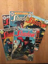 The Shadow - Série DC 1973 - numéros 1 à 11 - TBE/NEUF