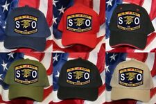 NAVY RATING SO SPECIAL WARFARE OPERATOR HAT PATCH CAP  NAVY