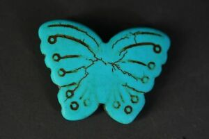 China Turquoise Butterfly Pendant Z18