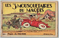 Marijac – Les 3 mousquetaires du Maquis – reliure 6 à 10