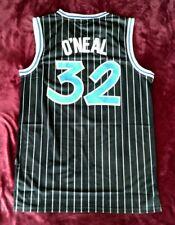 Nba Orlando Magic Shaquille O'Neal Black Stitched Nike Basketball Jersey Sz. L