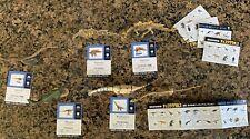 Kaiyodo Chocolasaurs Dinotales Dinosaur Series 2 (6) lot skeleton