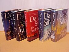 Lot 5 Daniel Silva HC Book The English Spy/House of Spies/Moscow Rule/Defector..