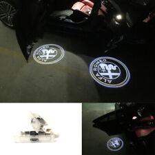 Proyector LED Puerta Cortesía charco logotipo Luces Para Alfa Romeo Stelvio Giulietta