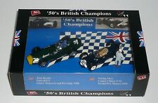 SET 50's BRITISH CHAMPIONS T. BROOKS VANWALL F1 WINNER GP ITALY Brumm MULTI 1:43
