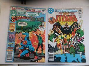 DC COMICS PRESENTS #26+, 1ST CYBORG/RAVEN/STARFIRE/NEW TEEN TITANS, 1980, NM-!!!