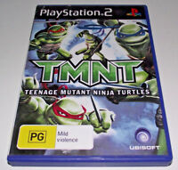 TMNT Teenage Mutant Ninja Turtles PS2 PAL *Complete*