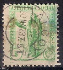 ESPAGNE GUERRE CIVIL - ALCOY - 30 MAR 37. 5 T - UTILISÉ - 17/6