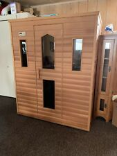 EZe Far Infrared Sauna.New In Box  Twin star Opposite Seat    60x48
