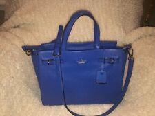 Kate Spade Holden Street Lanie Satchel Galaxy Blue Handbag