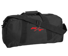 aad9a7990c18 Dodge R T Style Custom Embroidered Black Duffel Bag