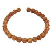 😏 Rudraksha Kugeln 8 mm - ca. 27 Samen Perlen Naturperlen für Mala Kette 😉