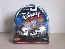Disney Diecast Wild Racers STREET WAGON & SCREAMIN SPEEDER 101 Dalmation  NIP