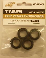 Meng 1/35 Scale Military Soft Rubber Tires Set (4)