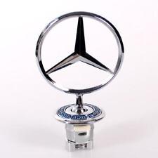 Mercedes BENZ Hood Badge Head Emblem SPRING MOUNTED W140 4.8 cm 1993-1999