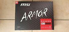 MSI ARMOR Grafikkarte mit AMD Radeon RX580, 8GB