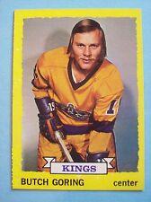 1973-74 Topps # 138 Butch Goring Vintage Card!  N/MT or Better!