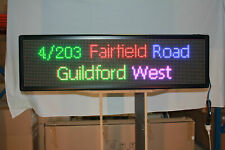 FULL COLOUR LED MESSAGE SCROLLING SIGN INDOOR SEMIOUTDOOR Different Size
