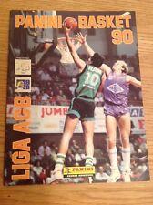 Vintage Panini : Basketball 1990 Sticker Album