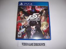 Original Box Case Replacement for Sony PlayStation 4 PS4 PERSONA 5 P5