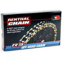 Renthal O-RING GOLD 520 Pitch Chain 118 LINK R3.3 SRS Enduro MX Chain