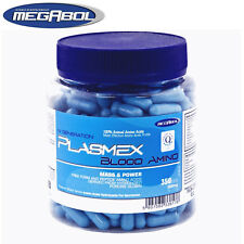 Plasmex 350 Caps. 100% Animal Amino Acids Muscle Pack Gain Strong BCAA Pills P&P