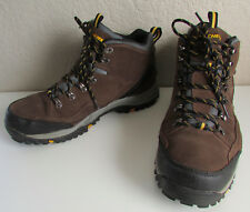 Mens Skechers Size 12 Waterproof Relment Pelmo Brown Hiking Trail Shoes Boots