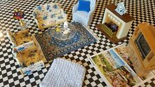 Calico Critters Livingroom with 20 Pieces