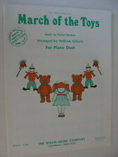 Christmas piano duet March of the Toys Victor Herbert 1984 from Babes in Toyland