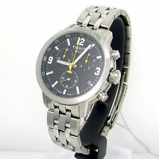 New Tissot PRC200 T055.417.11.057.00 Chronograph Men's Watch 200 mts