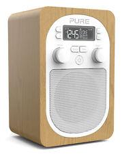 Pure Evoke H2 Portable Clock Radio OAK RRP £95