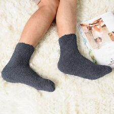 Christmas Women Men Winter Warm Cozy Cashmere Socks Sleep Bed Floor Home Fluffy