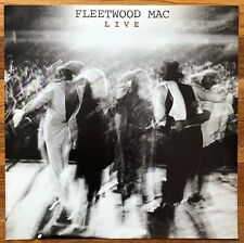 Fleetwood Mac Live Rare original promo 12 x 12 flat '80