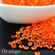 12Colores Diamante Cristal Granos Abalorios acrílicos decoración Mesas Boda