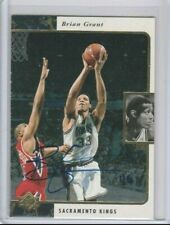 Brian Grant 1995-96 Upper Deck SP Authentic Buyback Autograph AUTO #1/6 (2YR RC)