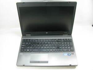 "HP ProBook 6560b 15.6"" Laptop 2.5 GHz i5-2450M 4GB RAM (Grade C No Battery)"