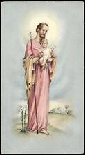 "santino-holy card""""ediz. NB serie Mo n.12 S.GIUSEPPE"