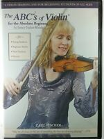 Janice Tucker Rhoda: The ABCs of Violin for the Absolute Beginner (DVD, 2008)