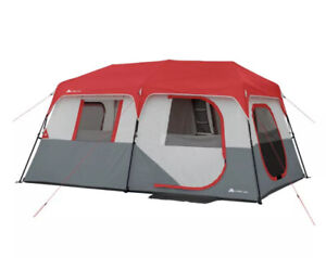 Ozark trail instant cabin tent 8 person With LED Lights And Bluetooth Speaker