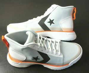 Converse Mens Star Series BB Mid Basketball Shoes Platinum Size 11.5 165591C