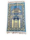 Vintage Turkish Turkish Prayer Rug Wall Hanging Tapestry Boho Beauty 47X25 in.