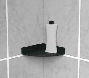 2Pc Self Adhesive Wall Shower Caddy Corner Storage Holder Rack Organize Bathroom