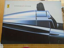 Ferrari 360 Spider brochure 2000 ref 1602/00