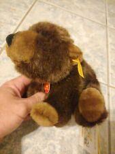 Steiff BABY BROWN BEAR / GRIZZLY BEAR CUB Sitting ~ 1998 MWMT ~ Plush Ean 069314