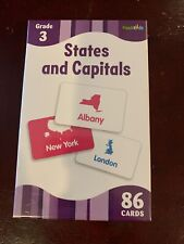 Flash Kids States And Capitals 86 Cards - Grade 3+