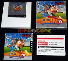 VIRTUAL PRO YAKYUU '95 (Professional Baseball '95) Virtual Boy Jap ○○○○ COMPLETO