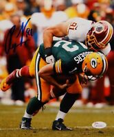 Ryan Kerrigan Autographed 8x10 Redskins Against Packers Photo- JSA W Auth