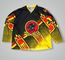 Vintage Nottingham Panthers Hockey Shirt Jersey Retro Elite Ice Hockey Kit