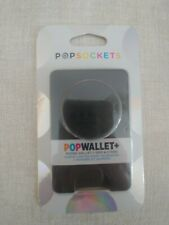 PopSockets Popwallet Plus Black Card Holder PopSocket Pop Socket Pop Wallet NEW!